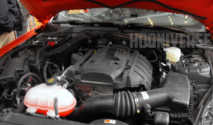 2015 EcoBoost Mustang Engine Photos | V6 Mustang Forums